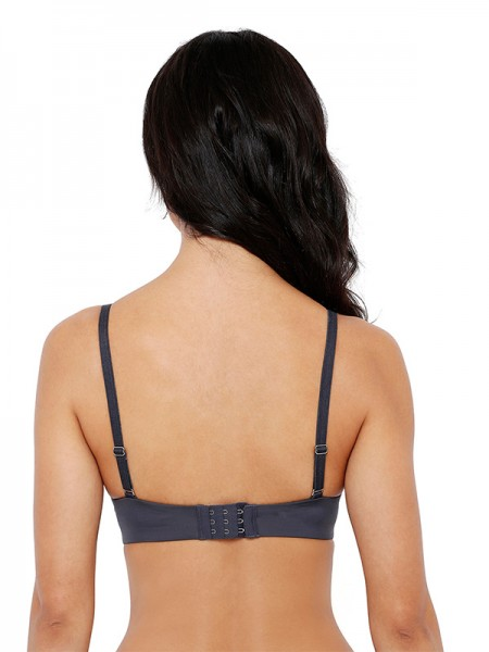 Smexy Cotton Lycra Solid Black & Ocean Blue Camisole (Pack Of 2) -SMEXY-BOB-Strap-Camisole