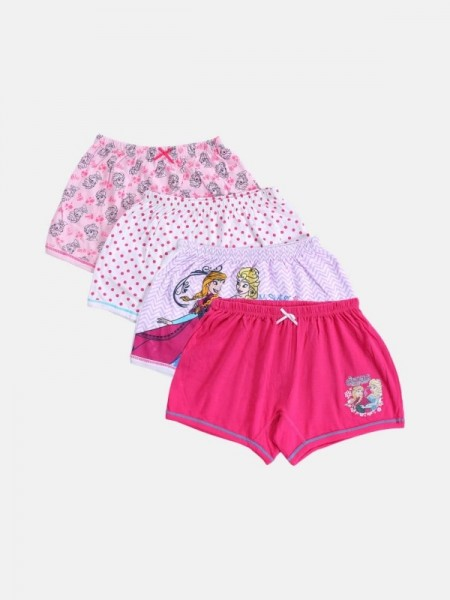 Clovia Full Coverage Non Padded Non Wired Pink Cotton (Pack of 2)-COMBRC015