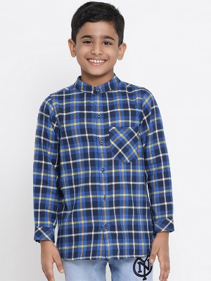Oxolloxo Multicolor Printed Cotton Boys Shirts - W19146BSH002