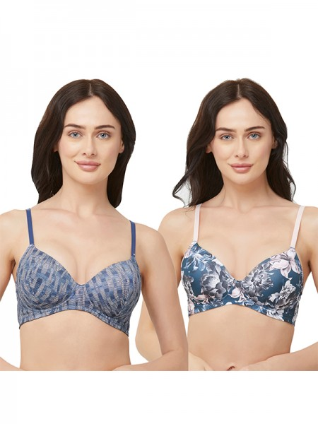 Sonari Hosiery magentarani Full Coverage Non Padded | Non Wired Bra-afreenmagentarani