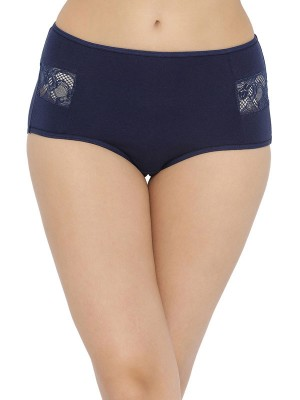 Inner Sense Organic Cotton Bamboo Elastane Printed Multicolor Thong (Pack of 3) -ISP012A_35_34A