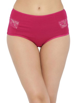 Inner Sense Organic Cotton Bamboo Elastane Solid Multicolor Thong -ISP012A_ISP012B