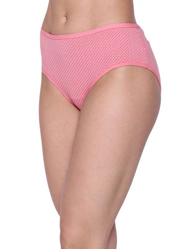 Jockey Multicolor Made from Superior 100% Combed Cotton Soft Absorbent fabric Printed Full Coverage Panties-1525_Printed Designs